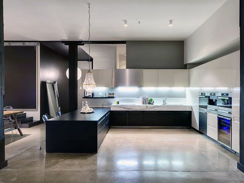 minimalist rental apartment: new york apartment: bedroom duplex