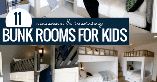 Remodelaholic | 11 Awesome Bunk Rooms: St. George Parade of Homes Video Tour