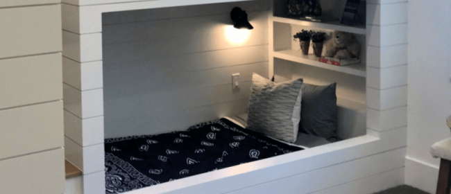 Remodelaholic | Get This Look: Modern Farmhouse Kids' Bunk Room