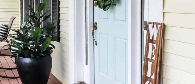 Remodelaholic | Friday Favorites: Beautiful Porch and Patio Decor Ideas