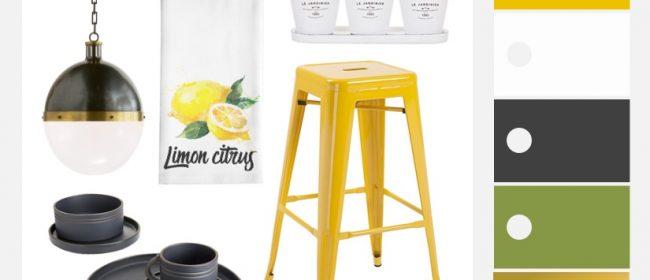 Remodelaholic | Sunny Yellow Kitchen Decorating Ideas