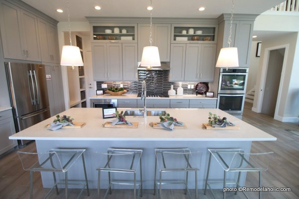 Remodelaholic 40 Beautiful Kitchens With Gray Kitchen Cabinets Diane Kelly