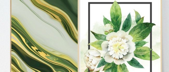 Remodelaholic | Printable Green Wall Art for Your Home